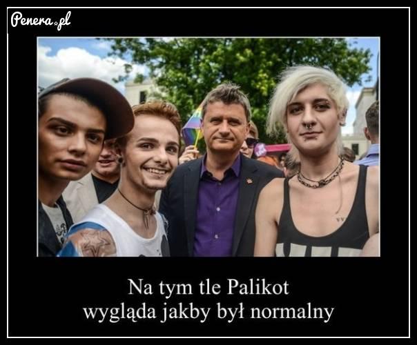Na tym zdjęciu Palikot wygląda jakby....