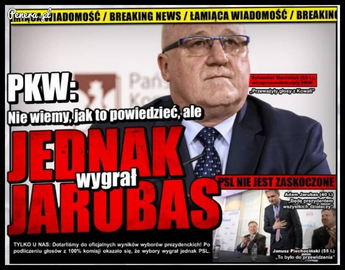 PKW: Jednak wygrał Jarubas