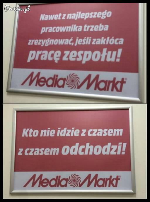 Tak wygląda motywacja w Media Markt :D