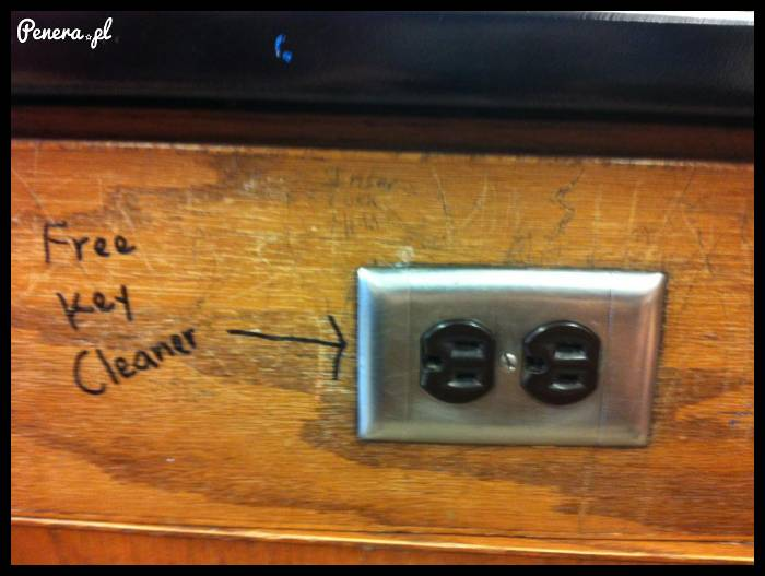 Urządzenie do czyszczenia kluczy