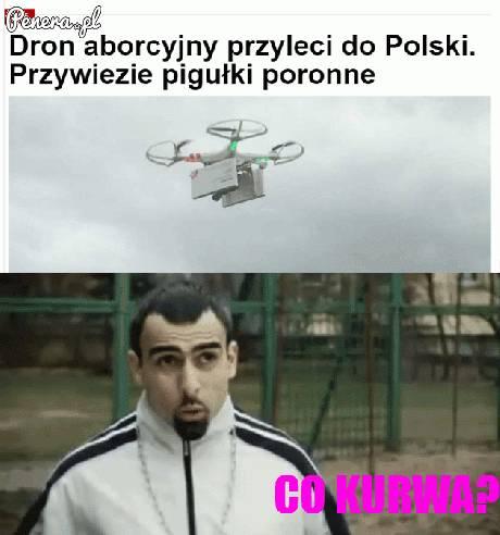 Dron aborcyjny przyleci do Polski