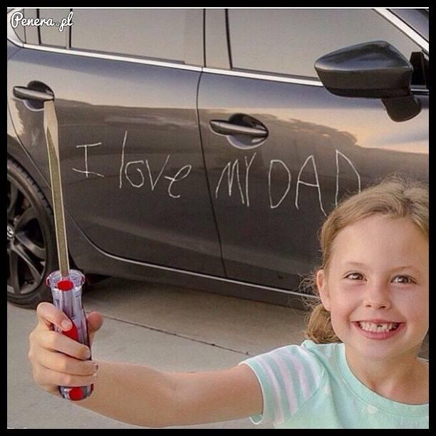 Nie ma to jak kochana córeczka :D