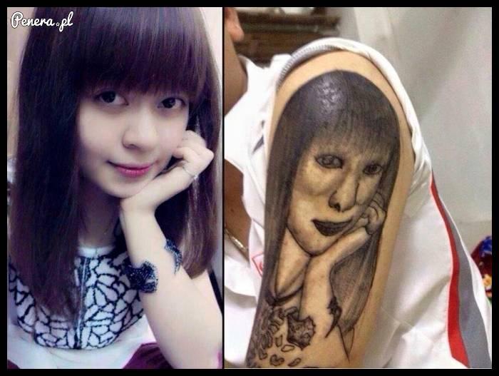 Ten tatuaż musiał robić prawdziwy artysta