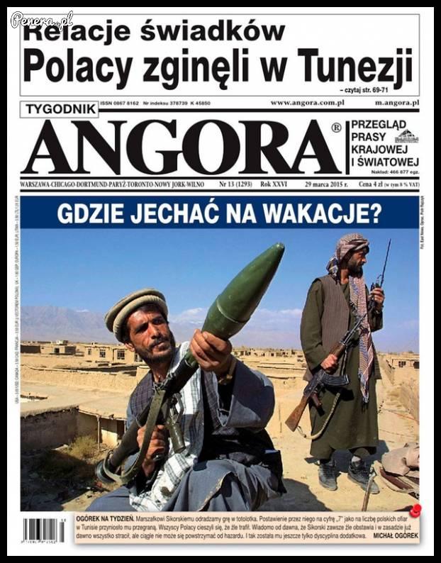 W Angorze zastanawiają się gdzie wyjechać na wakacje :)