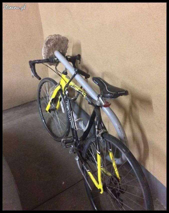 Zabezpieczenie antykradzieżowe dla roweru