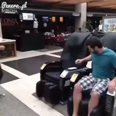 Zajebista wkręta na lotnisku