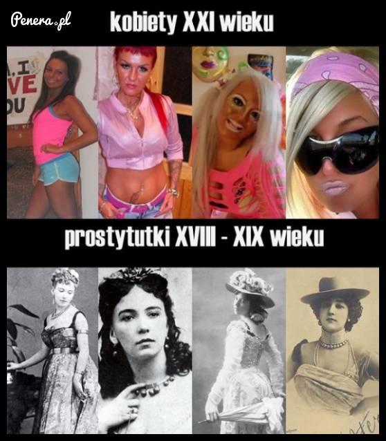 Kobiety 21 wieku vs prostytutki z 19