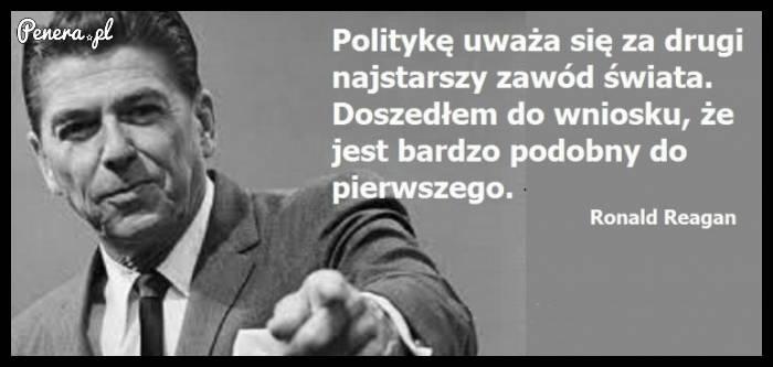 Polityka to drugi najstarszy zawód świata!