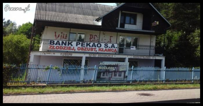 Słów kilka o pewnym banku
