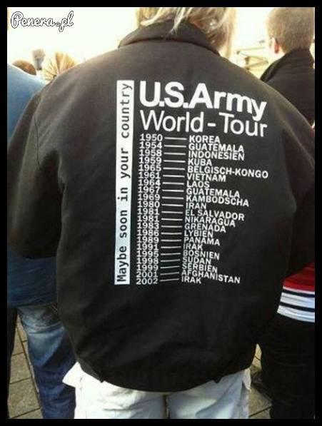 Tak wyglądało światowe tourne wojsk amerykańskich po świecie