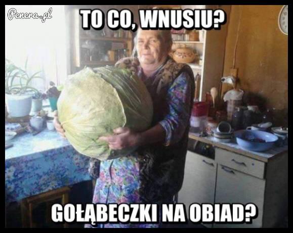 Babcie takie są :)