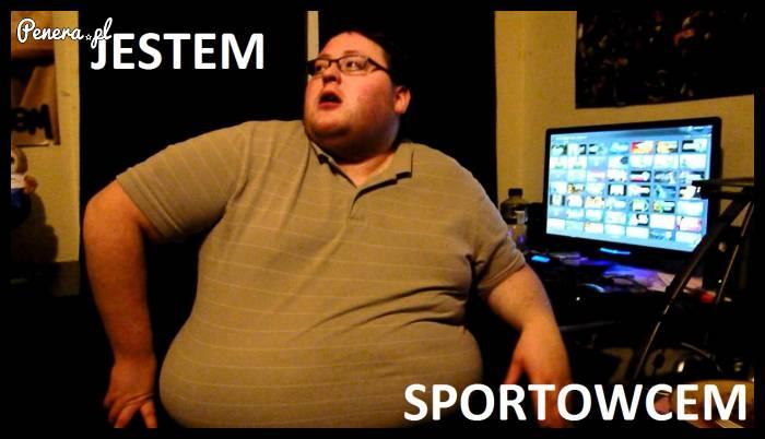 Jestem sportowcem!
