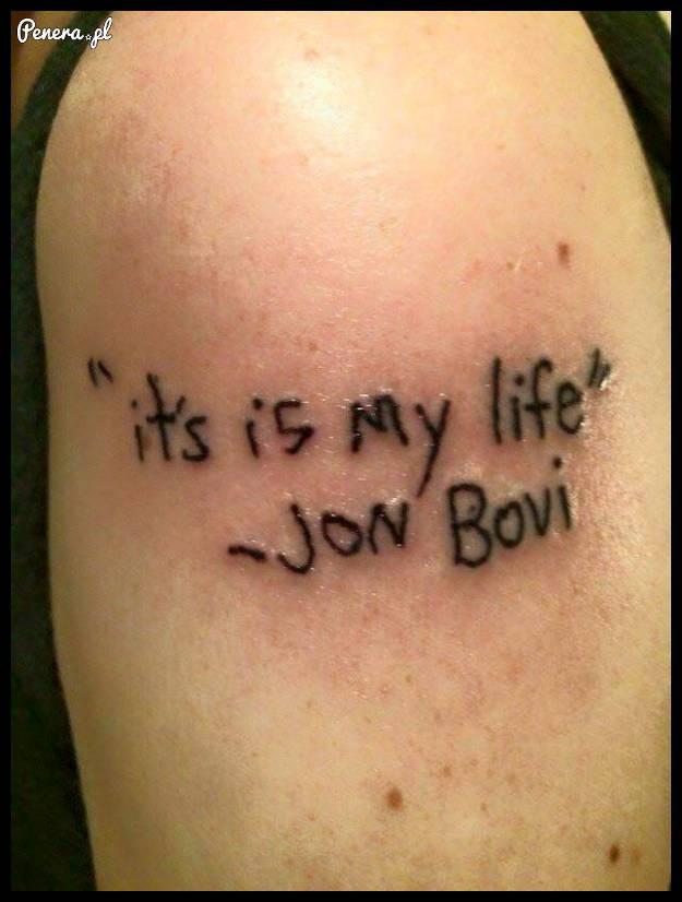 Kolejny piękny tatuaż do kolekcji