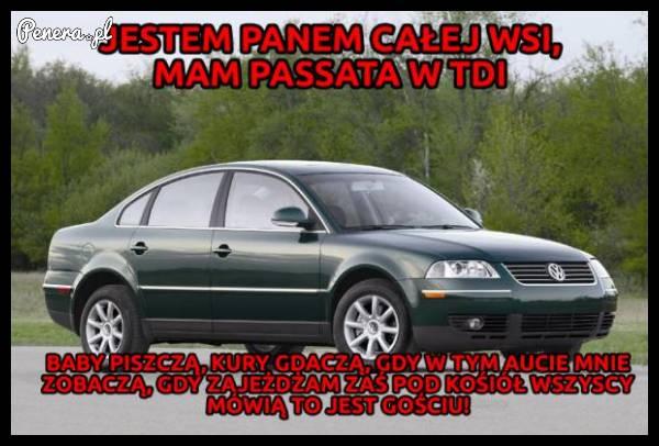 Passeratti to jest król wśród wiejskich aut