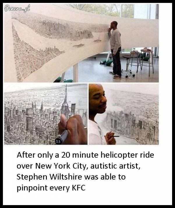 Wystarczyło mu tylko 20 minut w helikopterze
