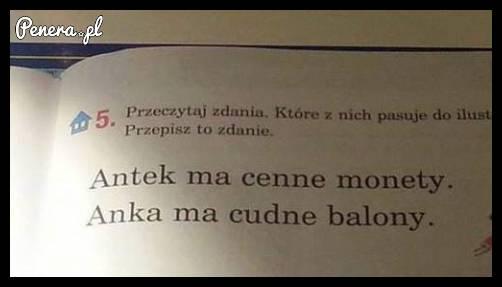 Ale że co w tym podręczniku?