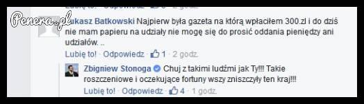 Piękna odpowiedź Stonogi do swojego fana