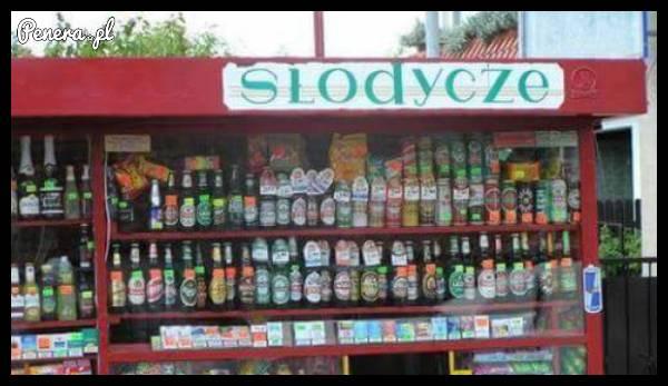 Same słodkości w tym kiosku :)