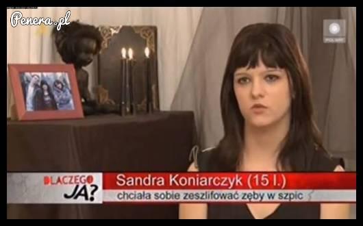 Sandra to dopiero ma genialne pomysły