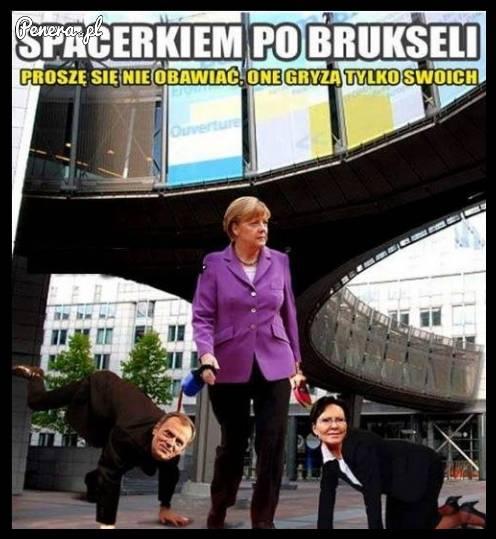Spacerek po Brukseli ze swoimi pupilkami
