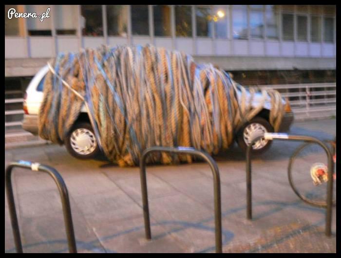 To dopiero kara za złe parkowanie!