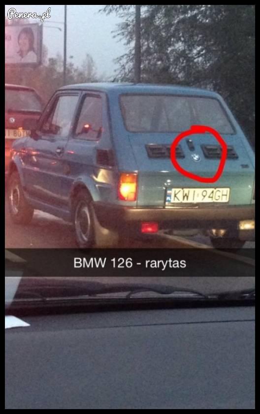 BMW 126 - rarytas