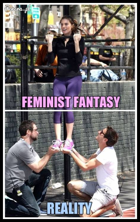 Feministyczne fantazje kontra brutalna rzeczywistość