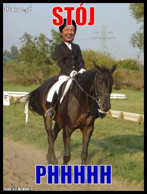 Gdy Hanka jeździ na koniu