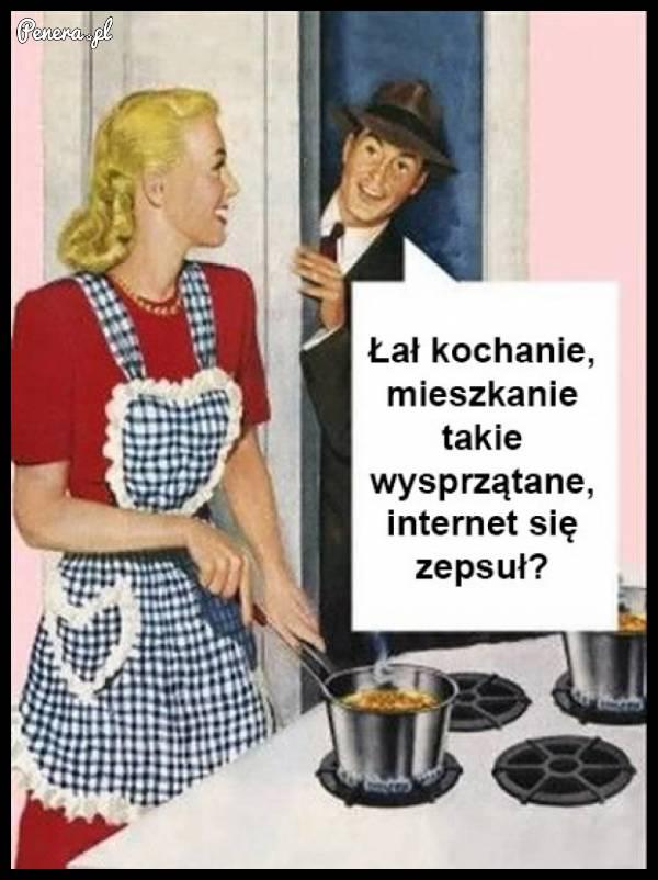 Gdy odetniesz żonie internet