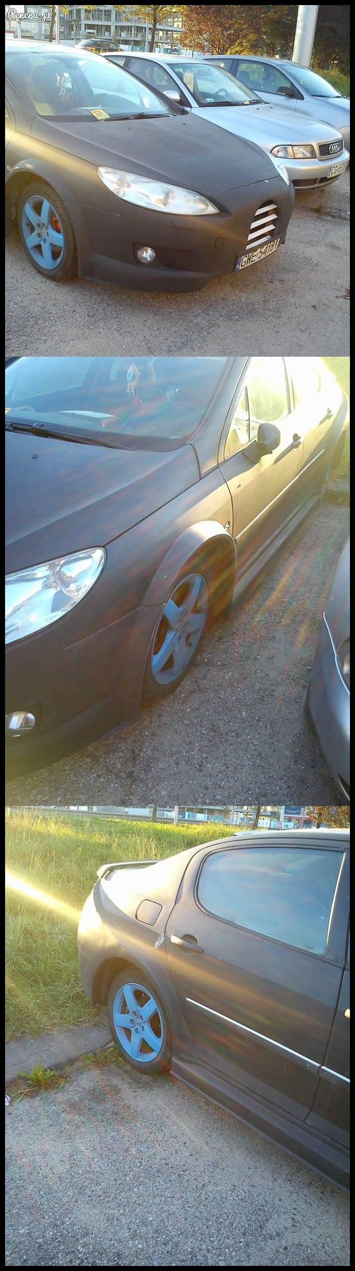 Kogoś nieźle poniosło z tym autem