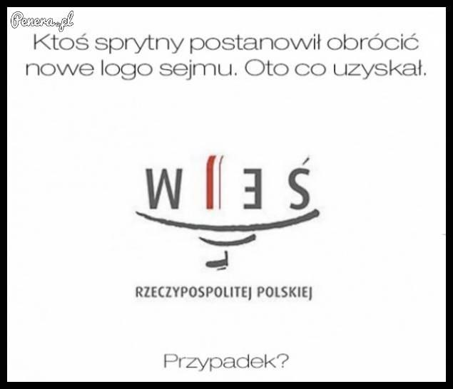Nowe logo Sejmu - przypadek?