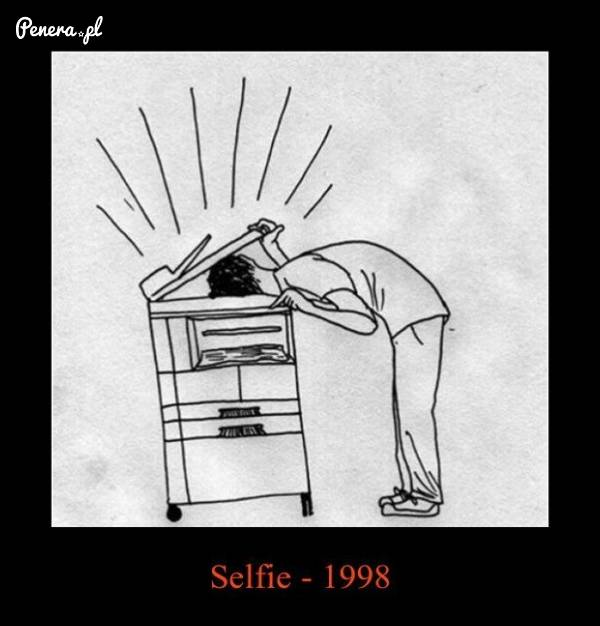 Tak się robiło selfie w 1998 roku