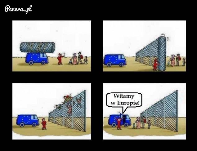 Tak wygląda umacnianie granic wg Unii Europejskiej
