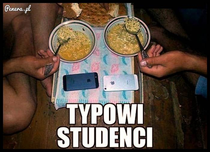 Typowi studenci