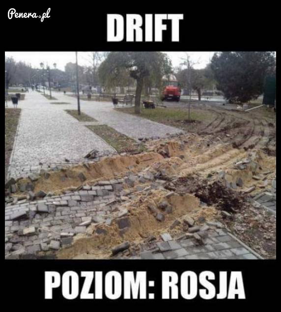 Drift poziom Rosja