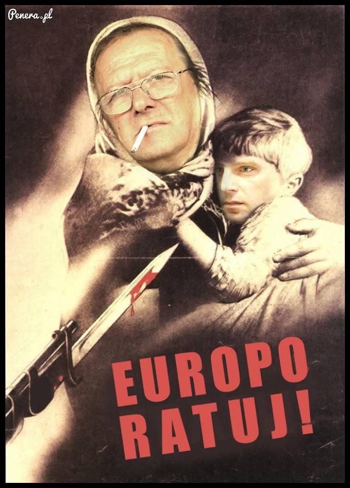 Europo ratuj ich
