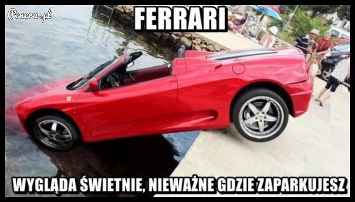 Ferrari zawsze wygląda świetnie