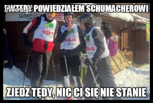 I wtedy Duda powiedział Schumacherowi
