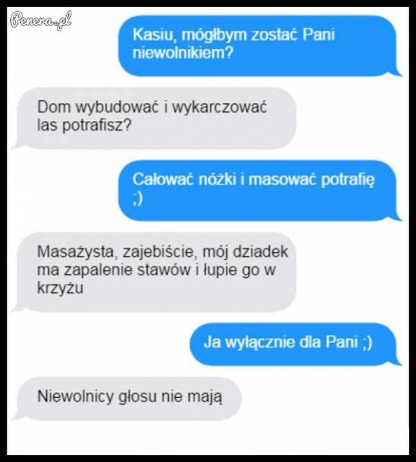 Kasia zrozumiała po swojemu ;)
