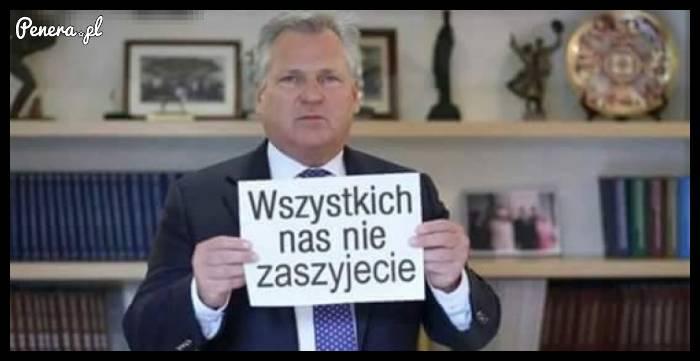 Oficjalny protest Kwaśniewskiego