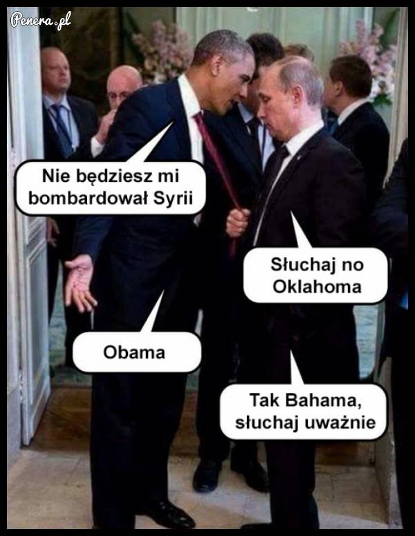 Spotkanie Obama - Putin po nalotach w Syrii