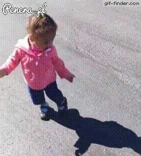 Strachliwy dzieciak