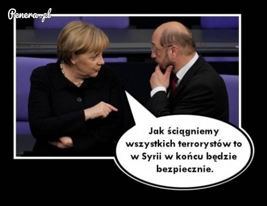 To chyba jest prawdziwy plan Merkel