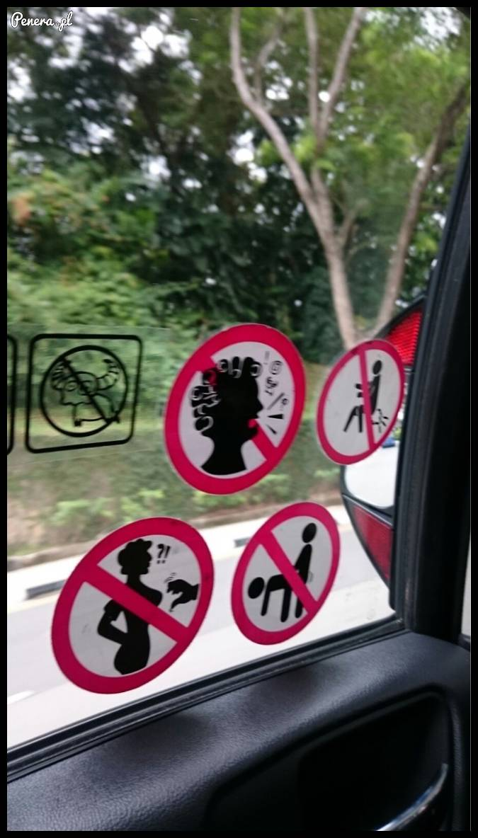 Tymczasem - ostrzeżenia w autobusie
