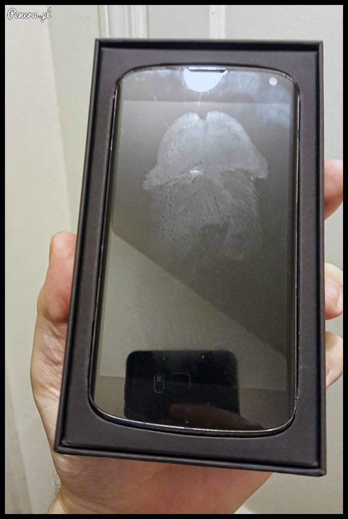 Dostajesz nowy telefon prosto z Chin a tu taka niespodzianka