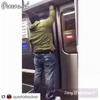 Dziękuję ja wysiadam z tego metra!