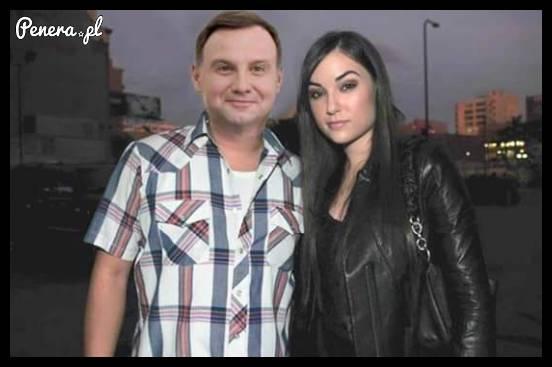 Pierwsza fotka po domówce u Andrzeja Dudy