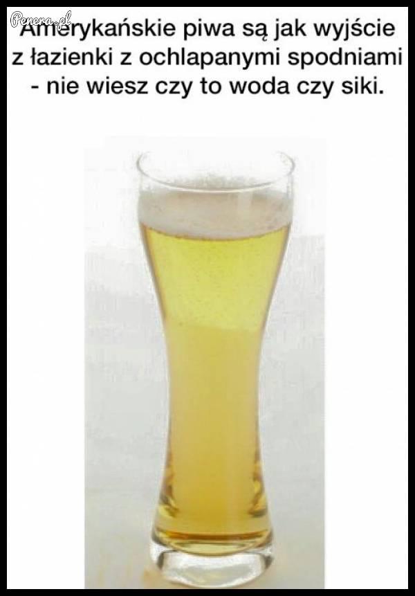 Takie są właśnie amerykańskie piwa