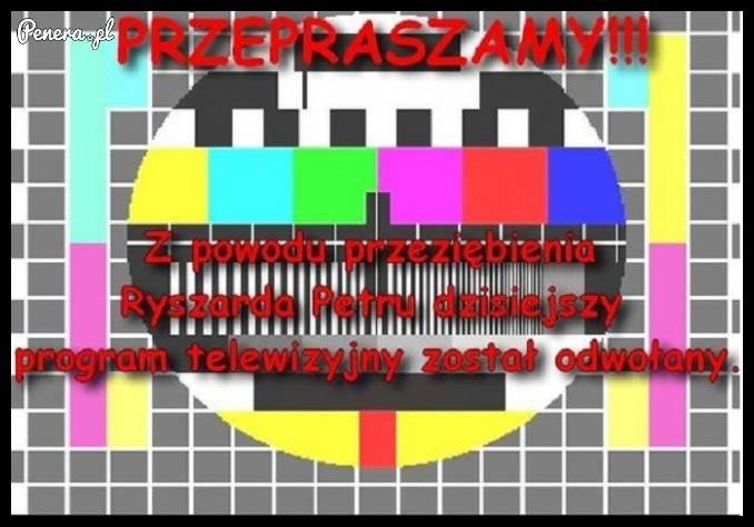 TVP przeprasza za usterki