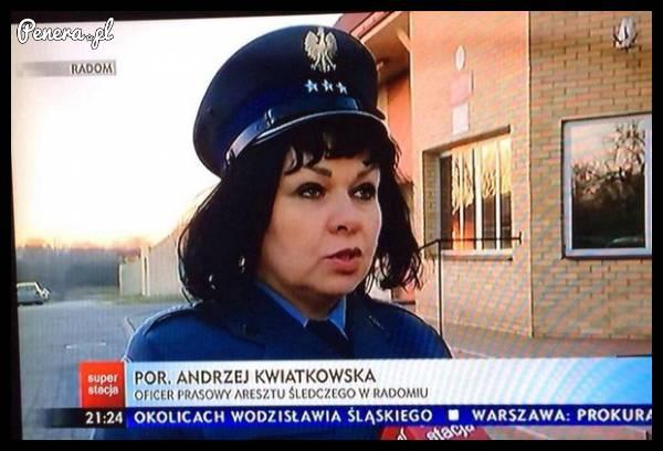 Ten Andrzej z policji jakiś taki dziwny